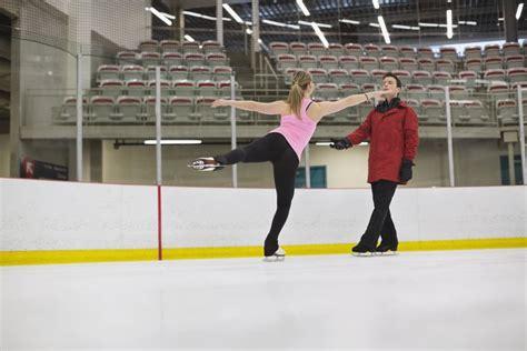 Figure skating practice