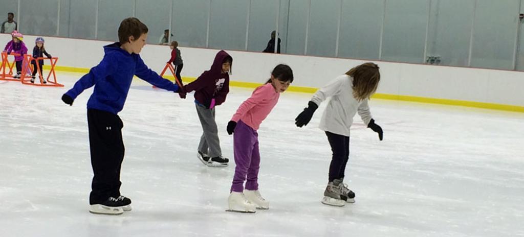 Willowbrook Ice Arena kids skating
