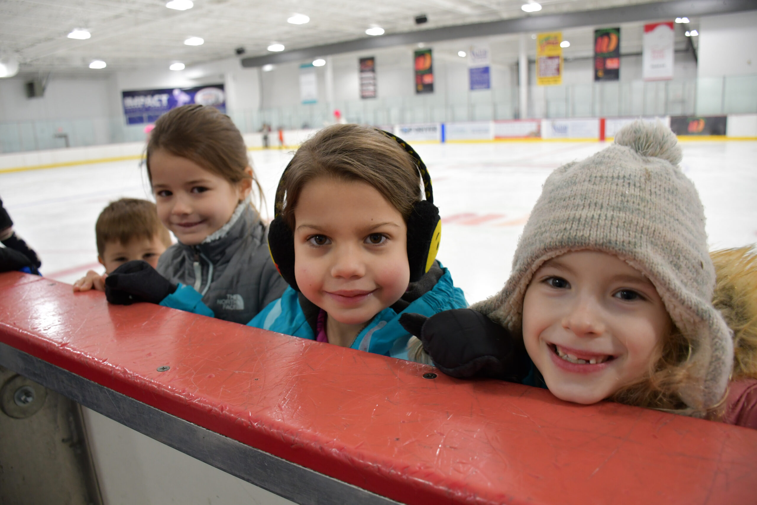 Willowbrook Ice Arena children at ice rink