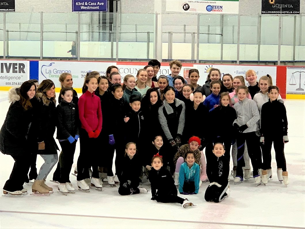 Figure Skater Group Willowbrook Ice Arena