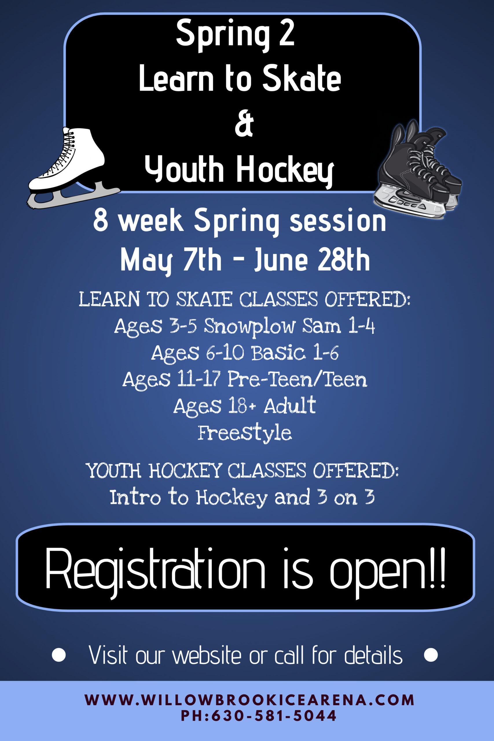 Spring 2 Poster - Registration Open